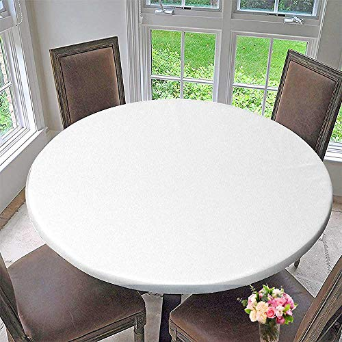 Mikihome Circular Table Cover Jade Pendant for Wedding/Banquet 50