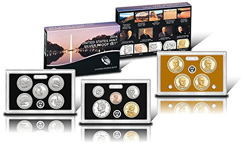2014 S United States Mint Silver Proof Set Gem (Numismatics Gold Coins)
