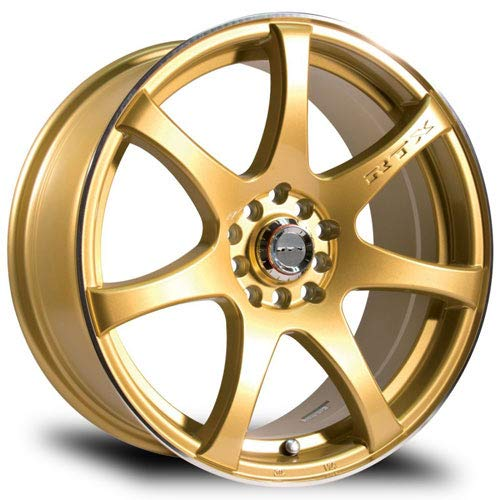 RTX Ink, 17X7.5, 5X100/114.3, 42, 73.1, Gold 081131 (Mazda Cx 5 17 Or 19 Inch Wheels)