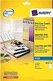 Avery J8437-25 DVD Case Inserts, 1 Label Per A4 Sheet