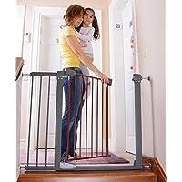 Miny Baby Unisex Otomatik Kapanır Çocuk Güvenlik Kapısı, Kahverengi