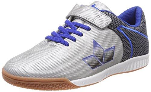 Lico Unisex-Erwachsene Seeker Vs Multisport Indoor Schuhe Silber (Silber/Blau Silber/Blau)