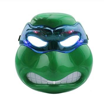 YAX Mascara Decoración De Fiesta Tortugas Ninja Máscaras De ...
