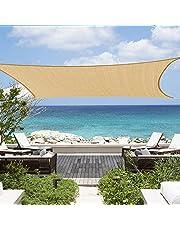 مظلة شمسية شراعية مستطيلة الشكل من اميناك مقاس 3 × 4 م من انو تيك، واقية من الاشعة فوق البنفسجية بنسبة 95%، وهي مثالية للباحات الخارجية وحديقة الفناء الخلفي، ولسقيفة السطح او لمناطق حمامات السباحة