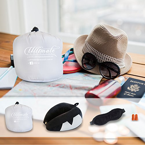 Travel Pillow Set Best Neck Pillow For Airplane Includes