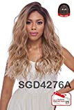 Cheap 4×4 MULTI PARTING LACE WIG WITH SILK BASE , Multi-direction Part , FLS11 (SGD4276A-MODEL COLOR)