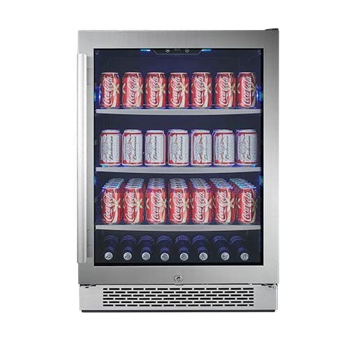 "Price comparison product image Avallon ABR241SGRH 152 Can 24"" Built-In Beverage Cooler - Right Hinge"