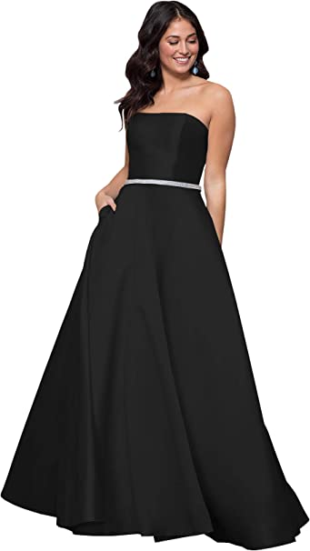 Tuque Dress One Shoulder Beading