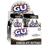 Gu Energy Gel-dietary Supplements, Chocolate Outrage 24 Ea (Pack of 3)