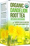 Drink up all the health benefits of Kiss Me Organics' Raw Dandelion Root Tea.    Kiss Me Organics' Raw Dandelion RootTea is not only delicious, it's 100% certified organic, has anti-inflammatory properties, and contains essential fatty acids and a...