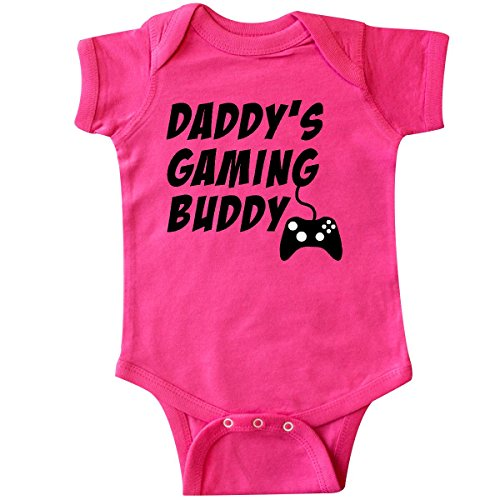 daddy s gaming buddy with infant creeper
