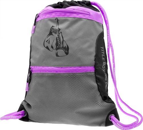 TITLE No Limits Sack Pack - Black/Purple