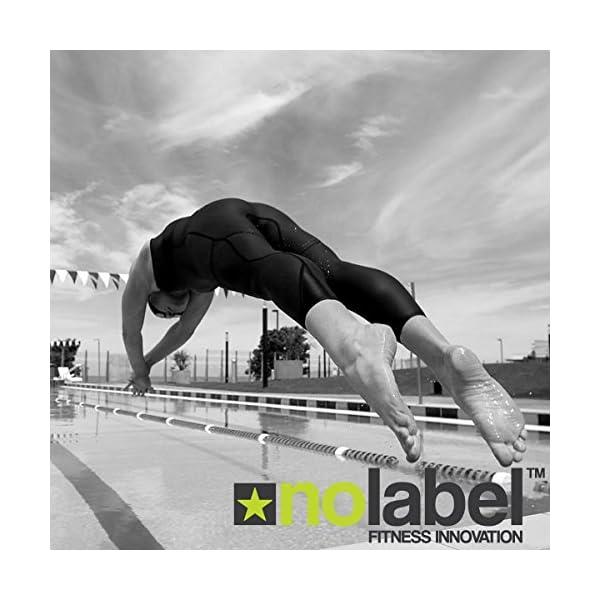 No Label Pale da Mano | Palette Mani per Nuoto | Le Palette per Allenamento Nuoto PRO-Serie Sono ottime per supportarti… 6 spesavip
