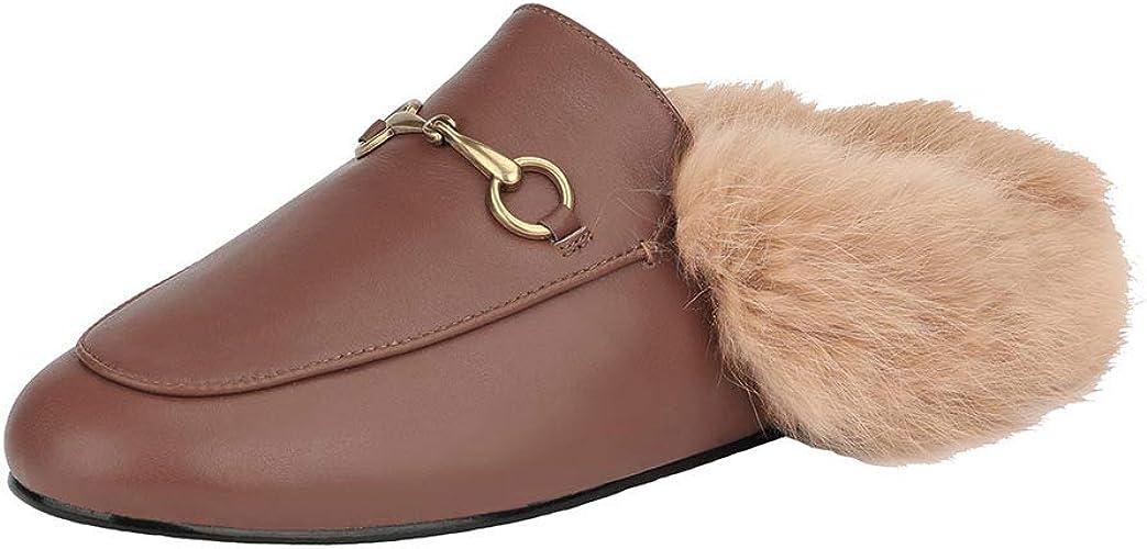 aznz Women Trend Slip On Mules