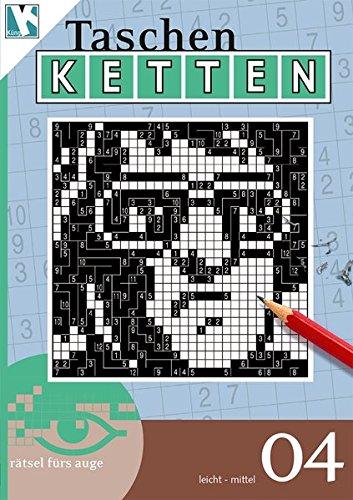 Ketten-Rätsel 04 (Taschen-Ketten Taschenbuch / Logik-Rätsel)