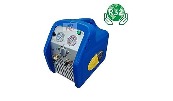 Recuperador Gas Refrigerante Tutti I Gas R410 A R404 A R134 a R32 1234yf: Amazon.es: Industria, empresas y ciencia
