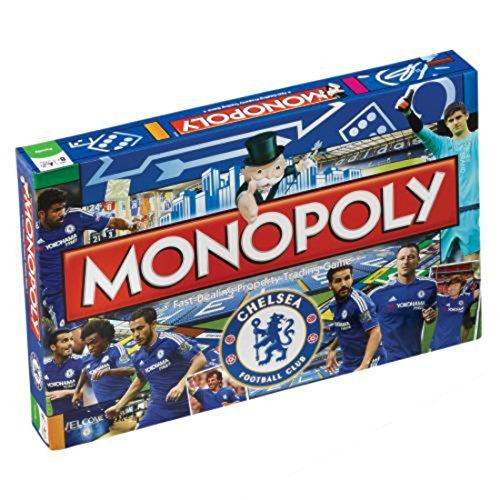 Official Monopoly Game (Chelsea F.c. Edition Monopoly Monopoly Board Game Official Licensed Product Weight In Grams by GiftRush)
