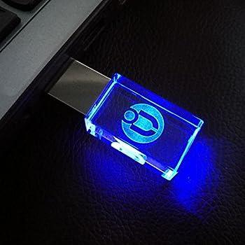 ulaika usb flash drive 16gb usb 2 0 memory stick led waterproof thumb drive. Black Bedroom Furniture Sets. Home Design Ideas