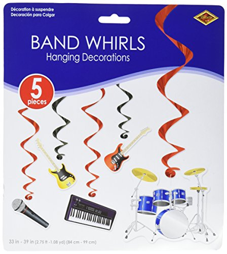 Band Whirls   (5/Pkg) ()