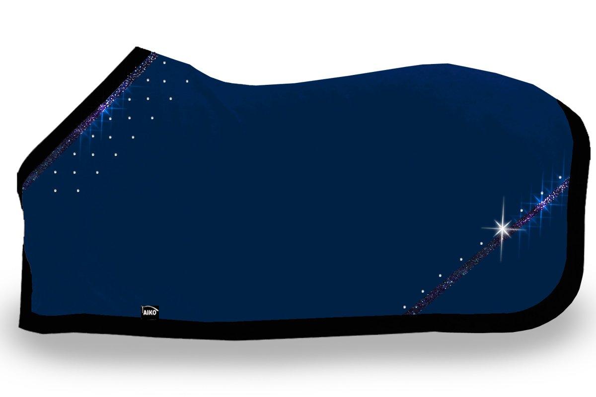 AIKO Abschwitzdecke Crystal Shine, nightblue, Gr. 155