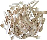 Outside the Box Papers Mini Wooden Spoons 3.5 Inches 150 Pack Natural