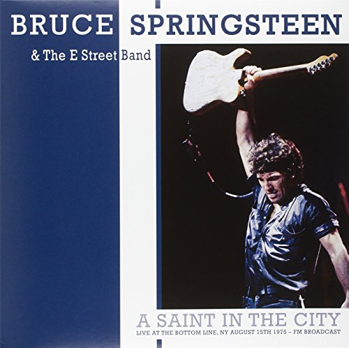 Price comparison product image Springsteen Bruce - A Saint in the City (Limited Edt.Blue Vinyl) [Vinyl LP] (1 LP)