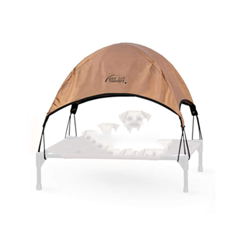 Camp bed + tent] 43x56cmZUOZUOZUO Dog Mat Cage Large Dog Summer Cool Law Fighting golden Retriever Kennel Camp Bed Plus Water Bed Surface 80X125X22.5Cm