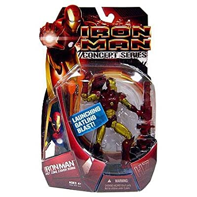 Hasbro Iron Man Movie Hot Zone Iron Man Action Figure: Toys & Games [5Bkhe0300827]