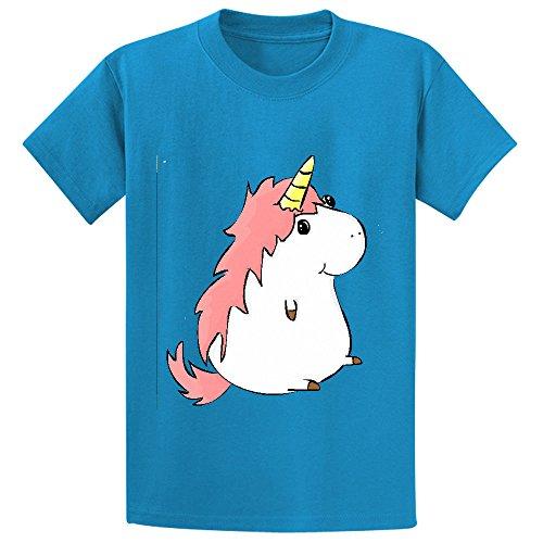andy-rainbow-unicorn-cartoon-child-crew-neck-short-sleeve-tee-blue