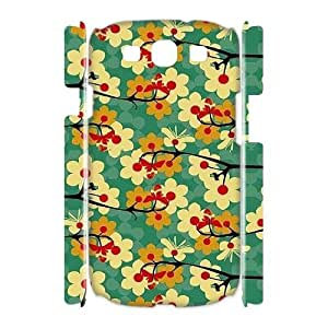 Vintage Flower 3D-Printed ZLB544921 Personalized 3D Phone Case for Samsung Galaxy S3 I9300