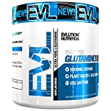 Evlution Nutrition Glutamine 5000 5 Grams of Pure Glutamine in Each Serving Unflavored Powder (100 Servings)