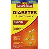 The Nature Made Diabetes Health Pack is scientifically formulated to supply nutritional support for people with diabetes, and provides important nutrients that may be lacking due to the strain diabetes can often put on the body's health. How might so...
