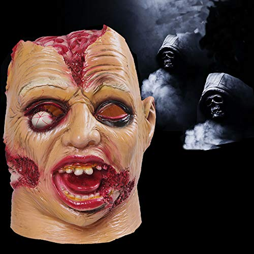 Sunba Youth Scary Halloween Mask Decorations Cosplay Horror Clown Masks for Kids Adults -