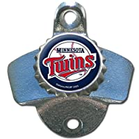 MLB Minnesota Twins Wall Bottle Opener