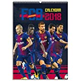 FC Barcelona Official 2018 Calendar - A3 Poster Format Calendar