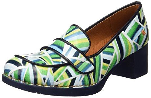 ART 0079 Fantasy Bristol, Zapatos de Tacón con Punta Cerrada para Mujer Varios colores (Stripes)