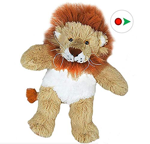 Stuffems Toy Shop Record Your Own Plush 8 inch Lion - Ready 2 Love in a Few Easy Steps