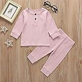 Toddler Baby Boy Girl Pajamas Set Unisex Infant