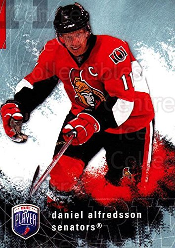 Daniel Alfredsson Hockey Card 2007-08 Be A Player 138 Daniel Alfredsson - Daniel Alfredsson Player
