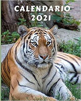 Calendario 2021: Lunedì Domenica Mensile 2021 Calendario con