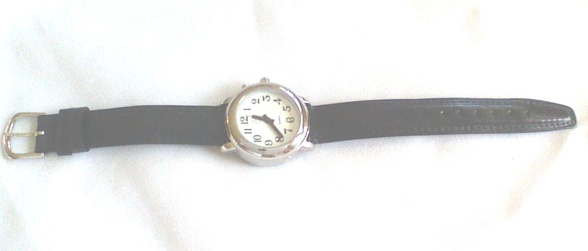 Ladies Talking Wrist Watch Silver Tone for the Blind and Low Vision by Active Products Plus