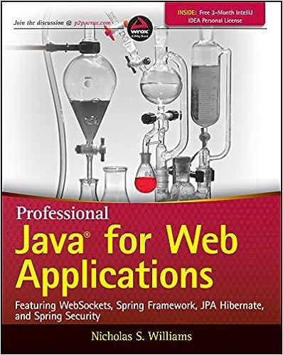 Amazon com: Professional Java for Web Applications eBook: Nicholas S