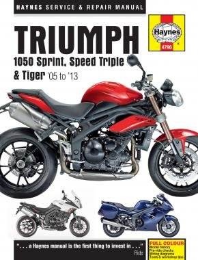 triumph 1050 sprint gt st speed triple r tiger se sport 2005 2013 rh amazon co uk speed triple 2006 manual speed triple 2011 manual