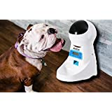 Automatic Pet Feeder Food Dispenser for Dogs & Cats - Distribution Alarms, Portion Control, Voice Recording, Timer Programmable
