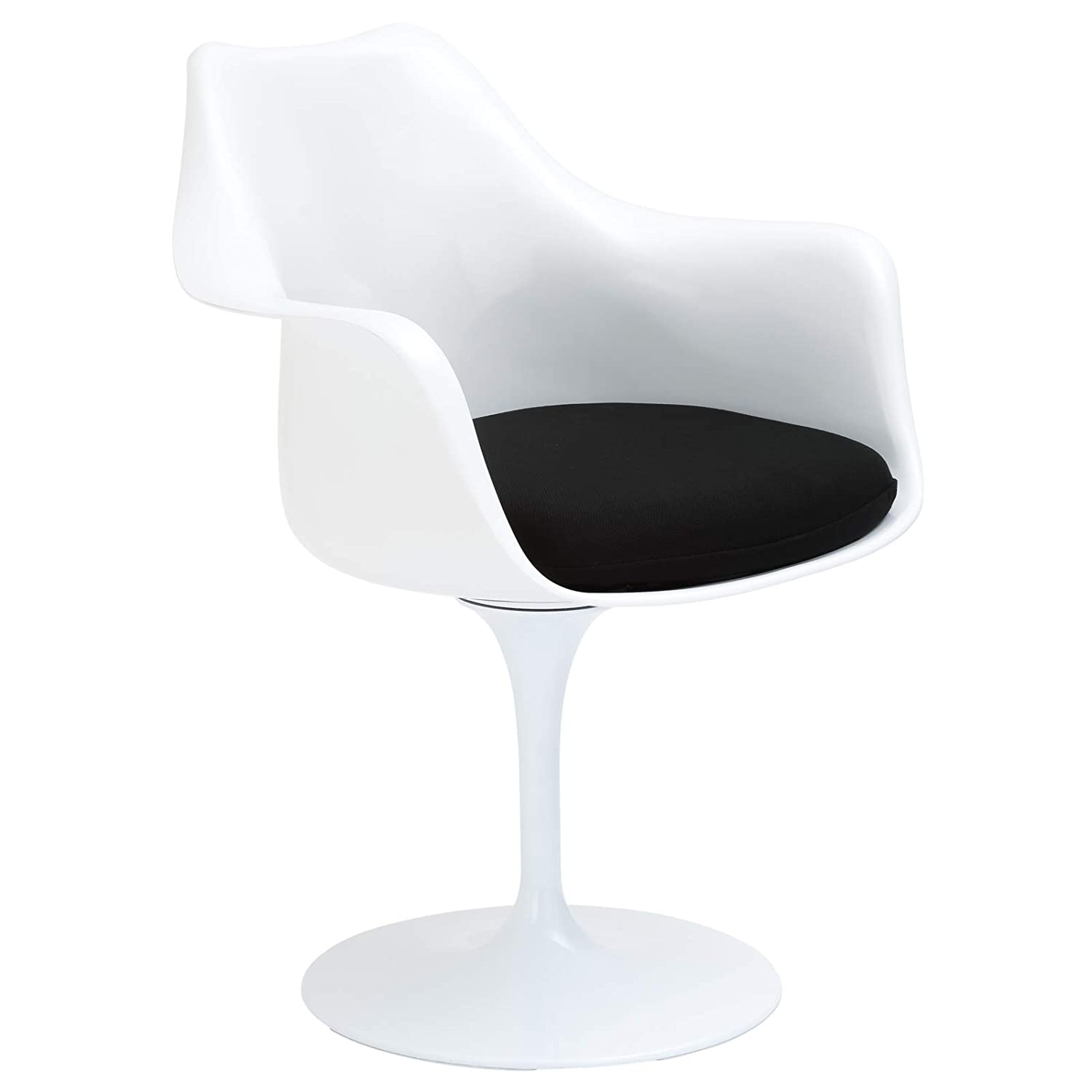 Poly and Bark Daisy Arm Chair in Black