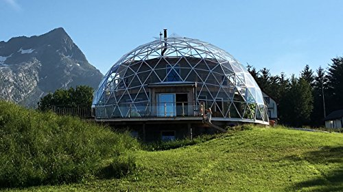 Glass Dome Eco House In The Arctic Circle