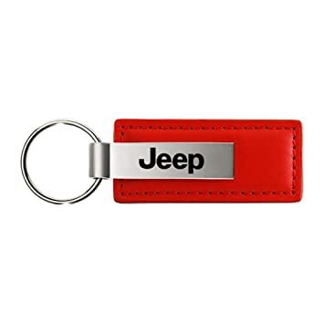 Official Licensed Dodge RAM Red Leather Key Chain Keychain
