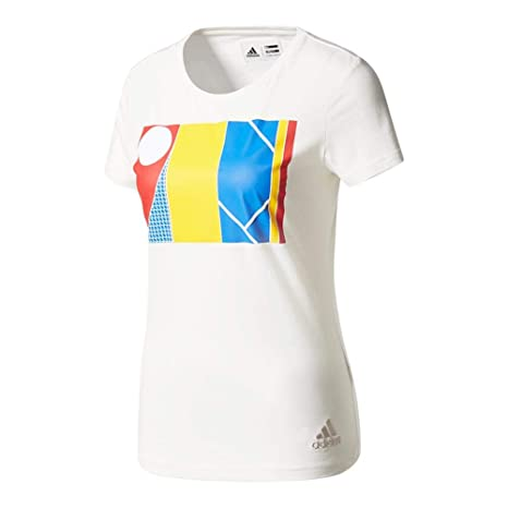 98a195f86b16f Adidas Pharrell Williams NY Graphic Tee - White  Amazon.ca  Clothing ...