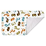 Planet Wise Waterproof Changing Diaper Pad, Fox