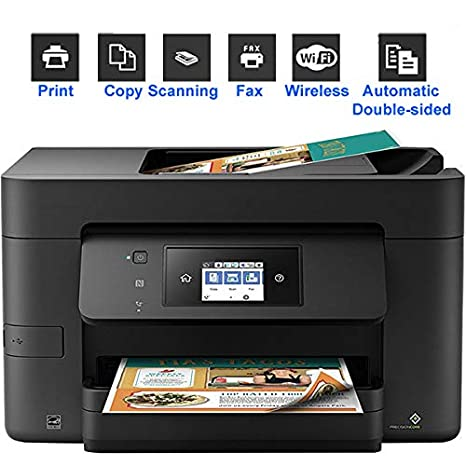 TANCEQI Impresora de Tinta Multifunción (Impresión/Copia/Escáner ...